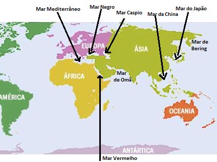 mapa mares