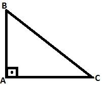Como calcular a area de um triangulo retângulo