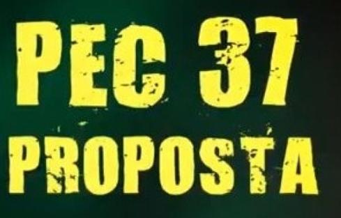 Deputados que votaram a favor da PEC 37