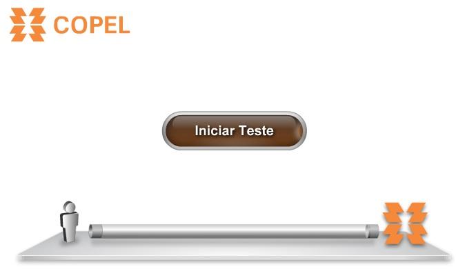 Reprodução página de testes Copel.