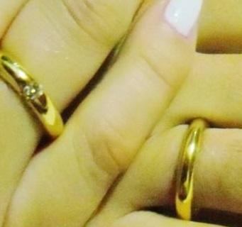 Noivado anel ou aliança