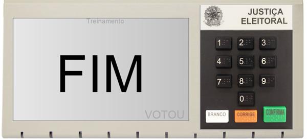 Ordem de votação eleições 2014 e simulador da urna eletrônica
