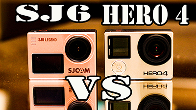 Review SJ6 Legend vs GoPro Hero 4 Silver